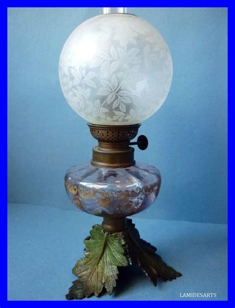 le a petrole bronze cristal louis 1900