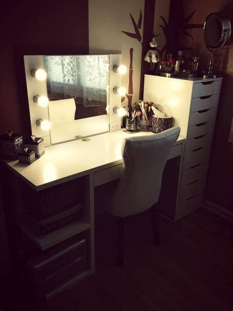 ikea alex and mickey desk diy makeup vanity cool makeup ideas at www katvonm makeup
