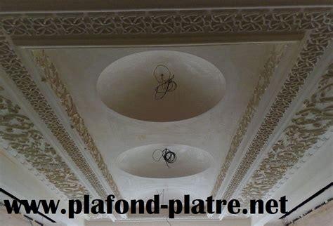 deco plafond platre maroc