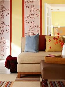 Schöne Zimmer Farben : holen sie den herbst ins wohnzimmer ~ Markanthonyermac.com Haus und Dekorationen