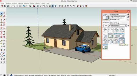 tuto gratuit dessiner sa maison avec sketchup avec sketchup 2014 sur tuto