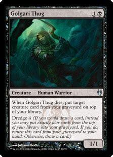 golgari thug magic card