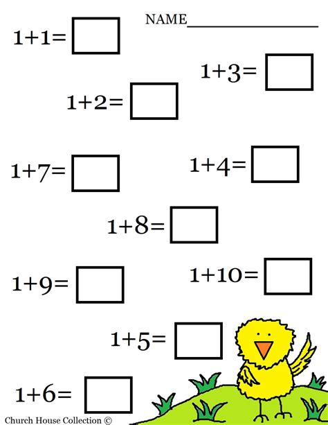 Church House Collection Blog Easter Math Worksheets For Kids