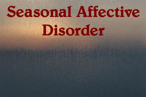 seasonal affective disorder frank j walker lmft