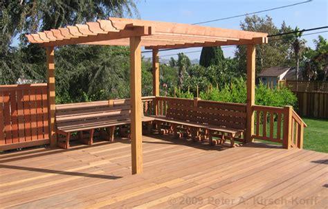 Woodwork Deck Trellis Plans Pdf Plans
