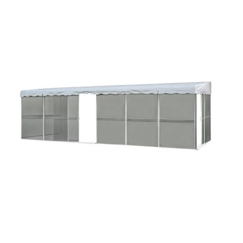 Patio Mate Screen Room Replacement Roofs by Patio Mate 10 Panel Screen Enclosure 09322 White With