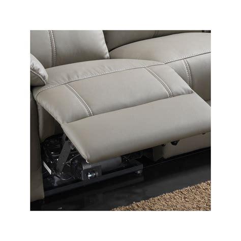 canap 233 relax 233 lectrique 3 places cuir vyctoire univers des assises tousmesmeubles