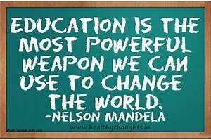 Education Is The Most Powerful Weapon Poster : why education is important quotes quotesgram ~ Markanthonyermac.com Haus und Dekorationen
