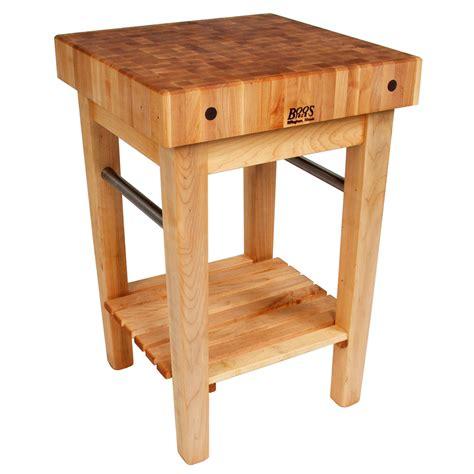 "John Boos Ppb3624 4"" Maple Top Butcher Block Work Table W"