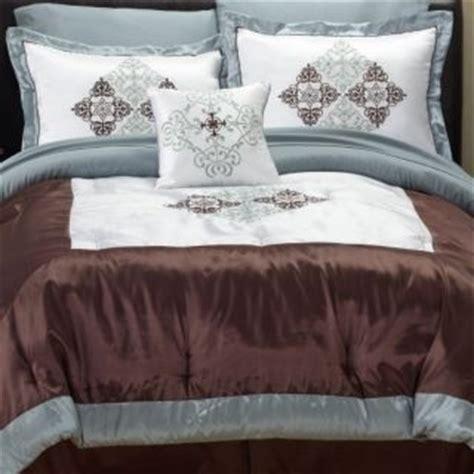 fingerhut glacier king 8pc bed set bedding sets