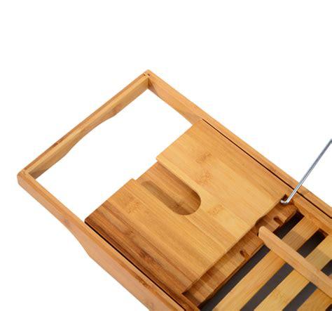 bamboo bathtub caddy with reading rack bathtub rack bamboo shelf shower tub book reading tray