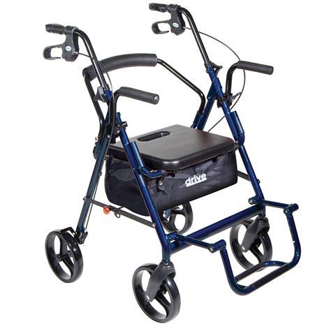 transport chair rollator combo
