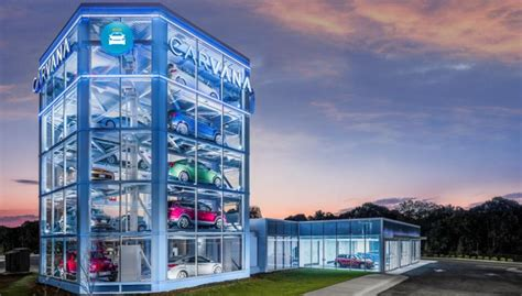 Carvana Opens Vending Machine In Raleigh  Auto Remarketing