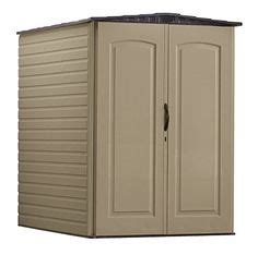 rubbermaid roughneck plastic medium vertical storage shed 106 cubic fg5l2000sdonx