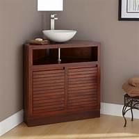 vanities for bathrooms Corner Bathroom Vanity Units for Your Bath Storage ...