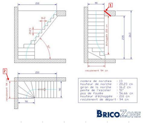 comment dessiner un escalier balance