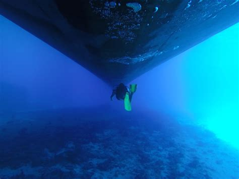 Under Boat Camera by The Ship Underwater Pictures Janetaroundtheplanet