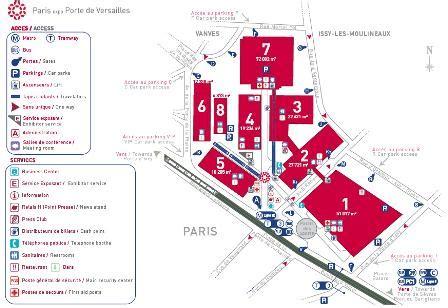 parc des expos plans le site de l ev 232 nementiel