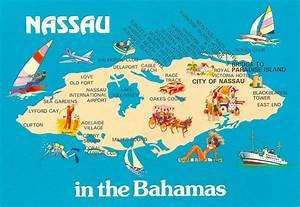 My Favorite Views: Bahamas - Nassau Map