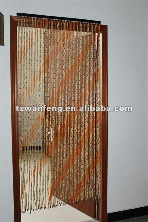 beaded door plain bamboo curtain 125 strands in