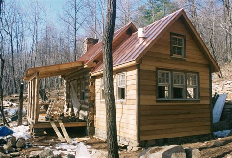 Part Four of… Building a rustic cabin  Handmade Houses
