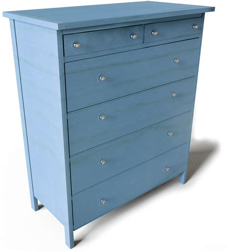 cad and bim object hemnes chest of 6 drawers ikea
