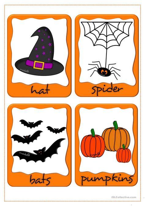 Halloween  Flashcards Worksheet  Free Esl Printable Worksheets Made By Teachers
