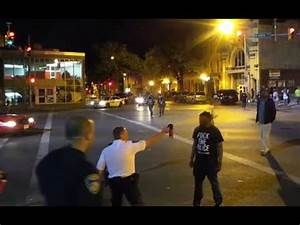 Baltimore clashes: Cops pepper-spray protester in face at ...