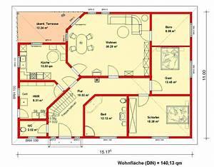 Grundriss Bungalow 100 Qm : grundriss bungalow ~ Markanthonyermac.com Haus und Dekorationen