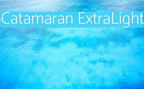 Catamaran Bold Font Free Download by Catamaran Extralight Font Comments Free Fonts Download