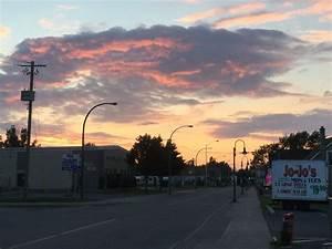 PHOTO: Sunset over Stittsville Main - StittsvilleCentral.ca