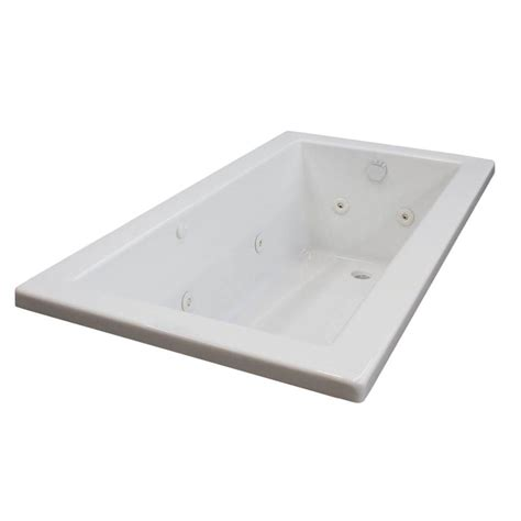 45 ft drop in bathtub universal tubs sapphire 6 ft rectangular drop in