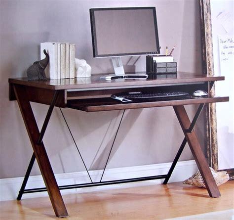 bayside computer desk computer desk bayside furnishings nalu office computer desk with slide