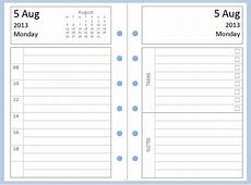 Philofaxy Diary Inserts for you to download and print for