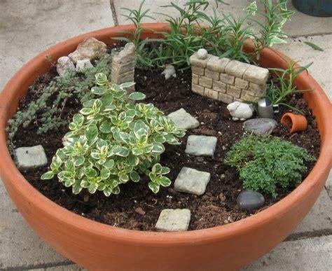 Fairy Container Garden Wall  Dish Gardening Pinterest