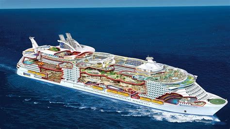Pictures Of The Biggest Boat In The World by Take A Look Inside The World S Largest Cruise Ship Its So