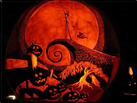 Jack And Sally Pumpkin Stencil Free by 63 Mindblowing Halloween Pumpkin Carvings Picture Gallery
