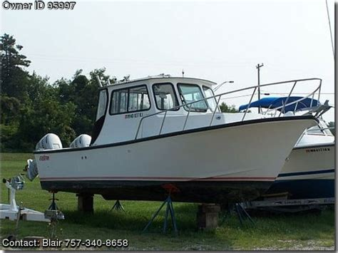 Old Boat Props For Sale by 2000 Judge 27 Downeast Pontooncats