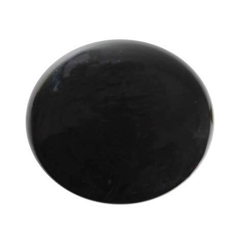 cabinet knob black porcelain solid brass backplate