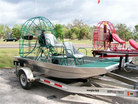 Quick Slick Airboat by New Aluminum Mini Hull