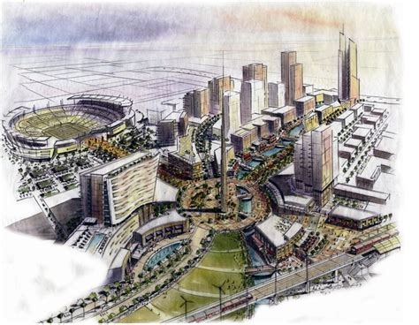Mission Valley Chargers Stadium Site Works
