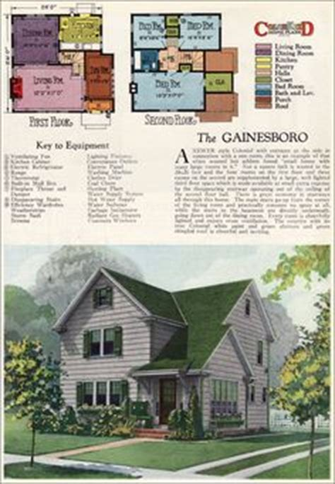 1927 goodrich revival cottage william a radford house plans 1925 nugget and newberry small