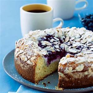 Blueberry-Cream Cheese Coffee Cake Recipe | MyRecipes