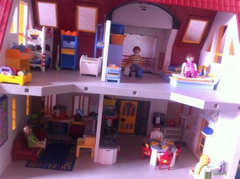 troc echange villa moderne playmobil sur troc