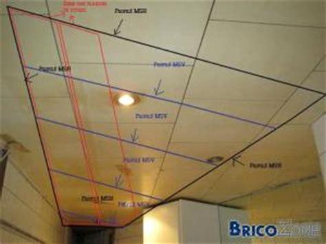 aide pour faux plafond dans une s d b
