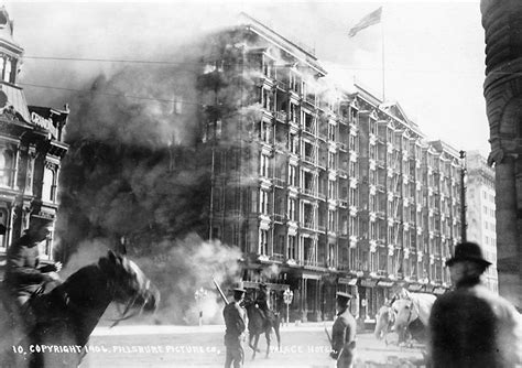 Earthquake Fire Boat by File Palace Hotel Fire April 18 1906 Jpg Wikipedia