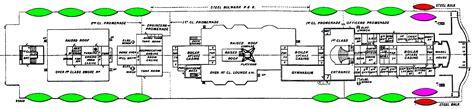 deck plans for titanic