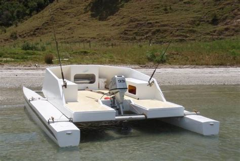 Small Boat Making by Small Catamaran Boat Plans Tekne Pinterest Sailing