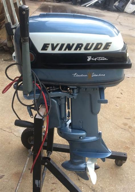 Old Century Boats For Sale by 1956 30 Hp Evinrude Outboard Antique Boat Motor For Sale