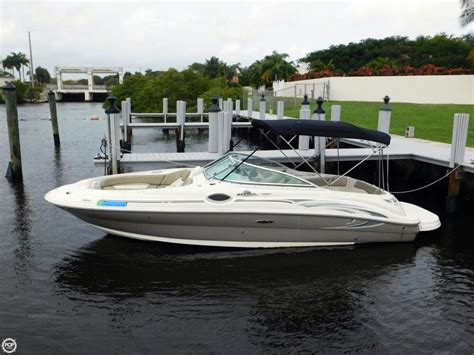 Used Sea Ray Sundeck Boats For Sale 2005 used sea ray 240 sundeck deck boat for sale 22 500